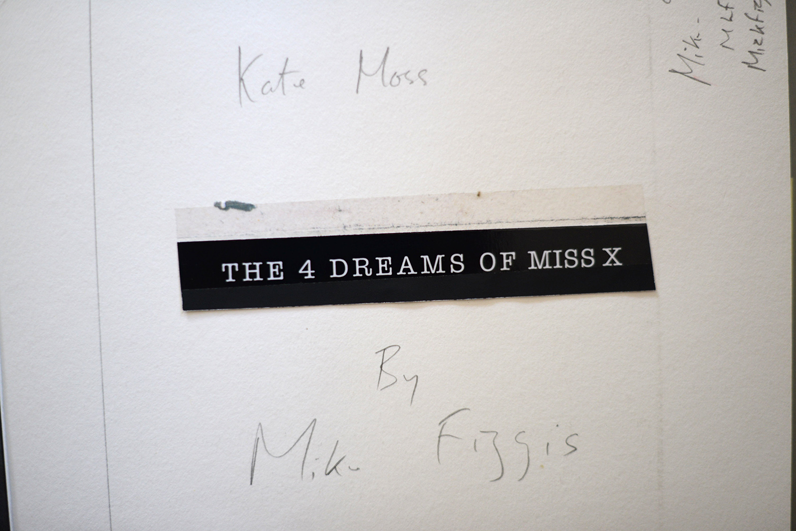 the four dreams of miss x